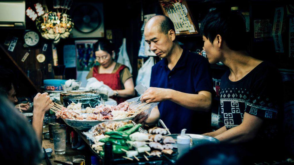 Chiang Mai Night Bazar con niños