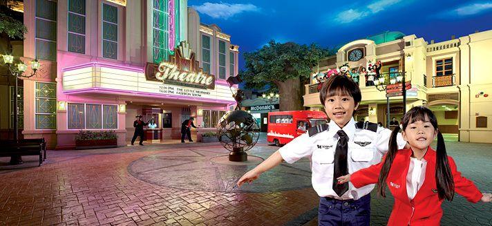 Kidzania Bangkok en Siam Paragon