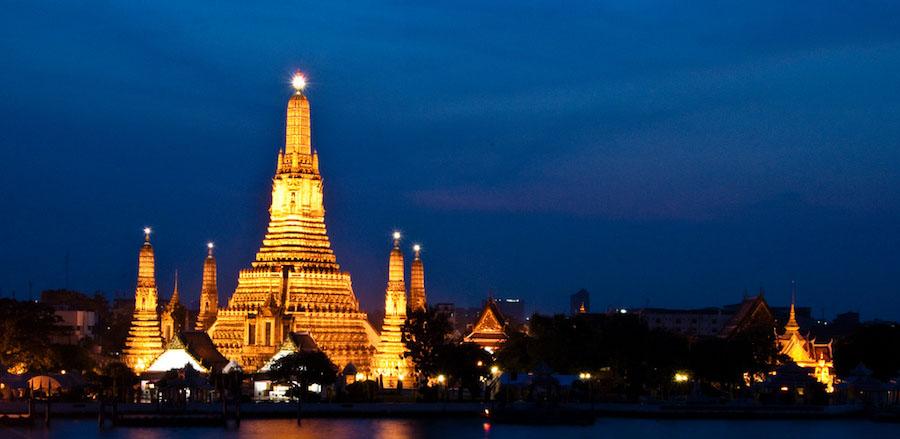 Wat Arun (Templo del Amanecer) en Bangkok